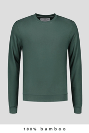 100% Bamboo Sweater Forest Green