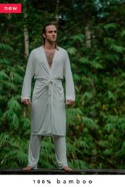 100% bamboo kimono + lounge pants combo (made-to-order in Bali + natural dye)
