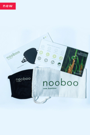 6x the most comfortable 100% bamboo face mask