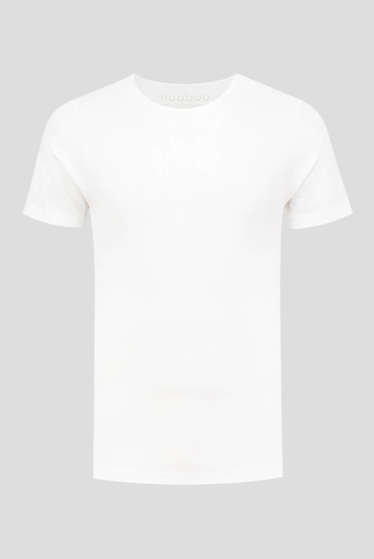 luxe bamboe t-shirt wit