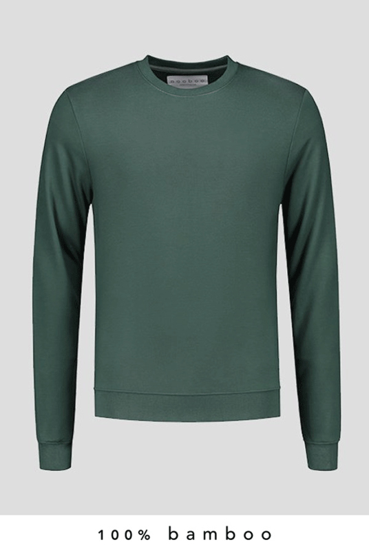 Pure - 100% Bamboo Sweatshirt Forest Green