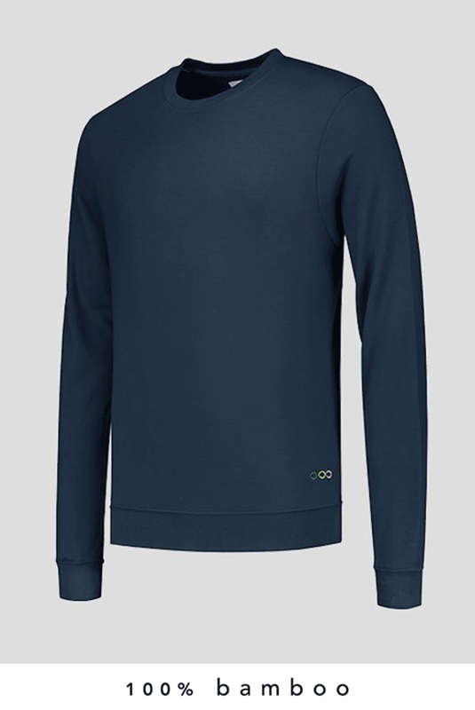 100% Bamboo Sweater Navy