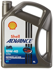 Shell Advance 4T 10W-40 4 liter