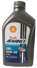 Shell Advance 4T 10W-40 1 liter