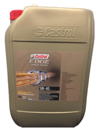 Castrol Edge Turbo Diesel 5W-40, 20 liter