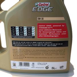 Castrol Edge 0W-30 5 liter