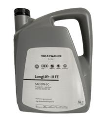 Volkswagen 0W-30 Longlife III FE, 5 liter