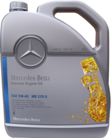 Mercedes-Benz 5w-40 MB 229.5, 5 liter
