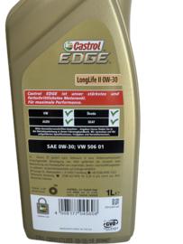 Castrol Edge Longlife II 0W-30 1 liter