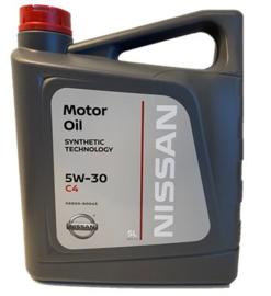 Nissan 5w-30 C4, 5 liter