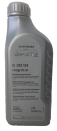 Volkswagen 5W-30 longlife III: VW, AUDI, SEAT, SKODA 1 liter