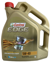 Castrol Edge 5W-40 titanium FST, 5 liter