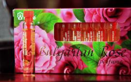LEMA 10 vials rozen olie parfum 2,1 ml