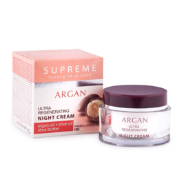 Night cream with argan 50 ml