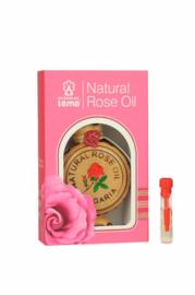 LEMA etherische rozen olie 0,5 ml onverdund
