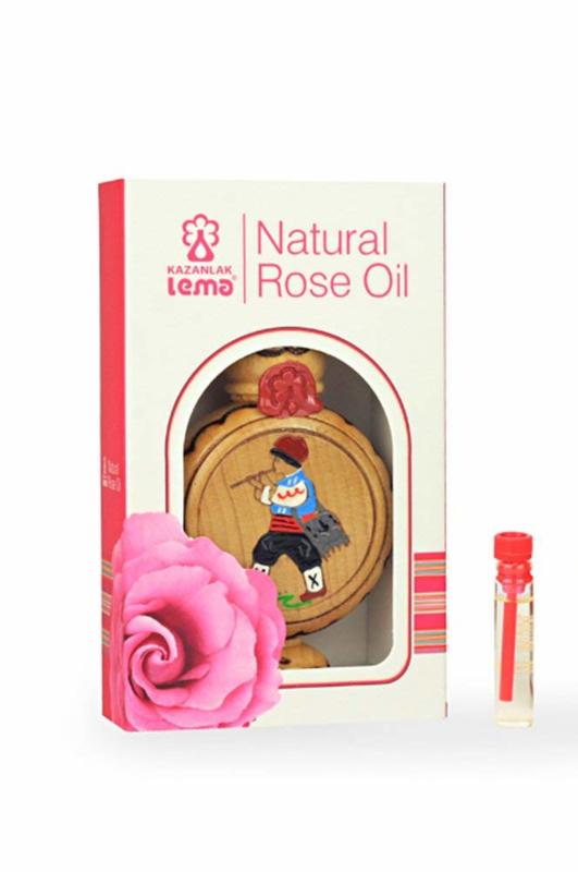 LEMA etherische rozen olie 1,0 ml onverdund