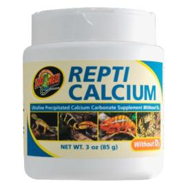 Repti Calcium zonder D3, 85 gr