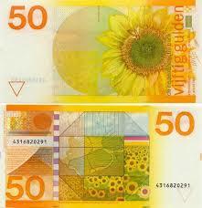 Nederland 50 Gulden 1982 Zonnebloem
