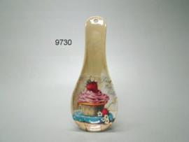 AARDBEI/CUP CAKE/BESTEKHOUDER (9730)