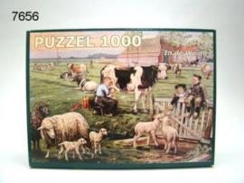 OT EN SIEN/PUZZEL IN DE WEIDE (7656)