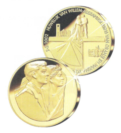 2002 Huwelijk Willem-Alexander Prins van Oranje en Máxima Zorreguieta