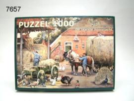 OT EN SIEN/PUZZEL DE LAATSTE HOOIVRACHT (7657)
