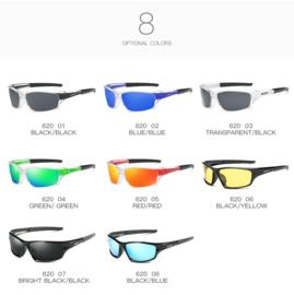 DUBERY Sport Zonnebril Voor Mannen en hele stoere meiden