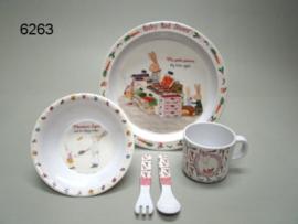 KINDERSET/MELAMIME/RUBY RED FRANCE/5DEL (6263)