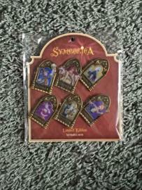 Symbolica pin set (deel 1) compleet