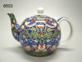 STRAWBERRY THIEF/THEEPOT (8503) (WILLIAM MORRIS)