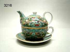 STRAWBERRY THIEF/TEA FOR ONE (3216) (WILLIAM MORRIS)