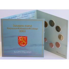 Finland 2001 Coinage BU