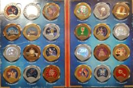 Symbolica muntenalbum compleet