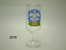 BARTJE GLAS PILS OP VOET (2076)