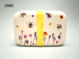 BUSY BEES/LUNCHBOX BAMBOE 19X13X6CM (2980)