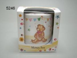 BABY/LITTLE BEAR HUGS/SPAARPOT (5246)