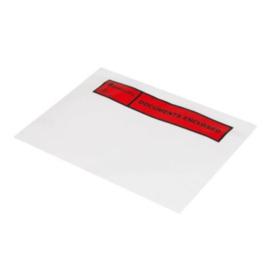 Paklijst envelop A6
