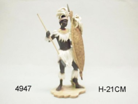 AFRICA ZULU WARRIOR (4947)