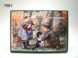 OT EN SIEN/PUZZEL WAT DENKT POES (7661)