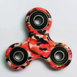 Fidget spinner | Hand spinner Speeltje Tri-Spinner Keramiek ABS EDC in de camouflage kleur