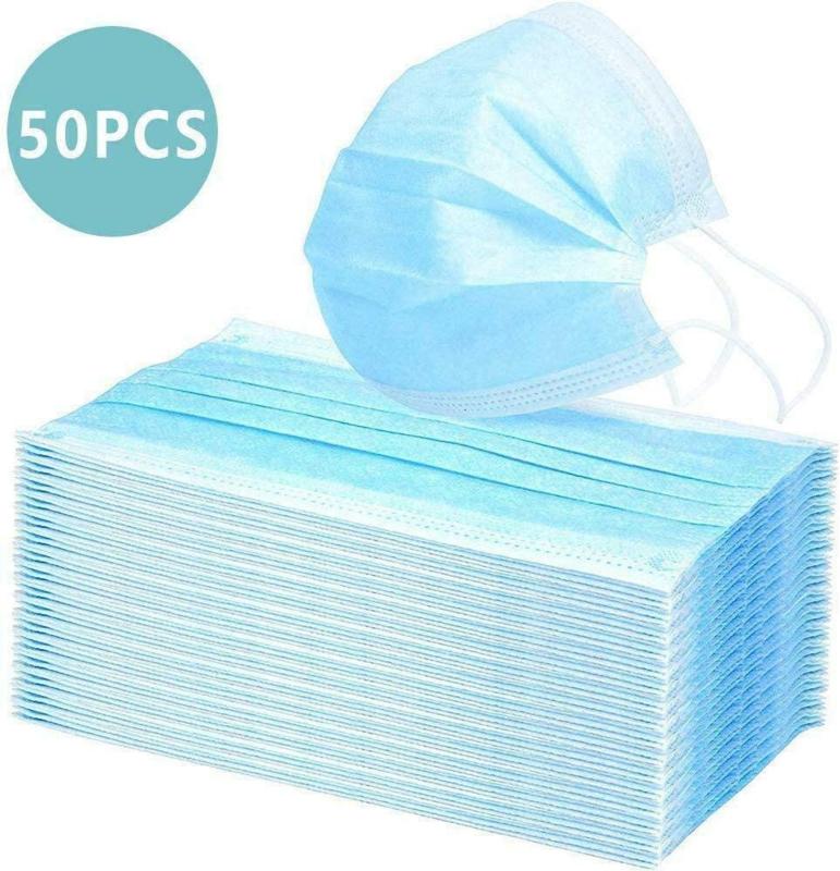 wegwerpmaskers 3-laagse hygiëne masker antivirus smoke