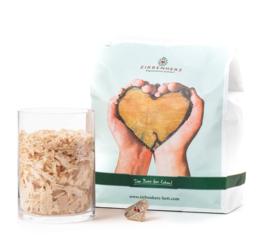 Zirben vlokken - houtkrullen magische mix - 1000 gram