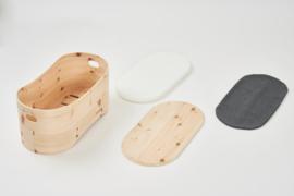 Babybed Benni's Nest uit Zirben hout - set 2