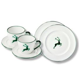 Ontbijt voor twee set - Hert groen cadeauverpakking