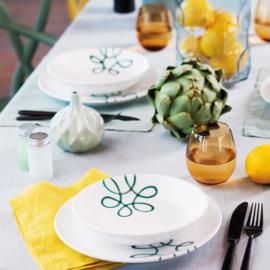 Ontbijt voor twee set - Pur Geflammt groen cadeauverpakking