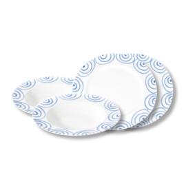 Diner voor twee set - Geflammt blauw cadeauverpakking