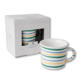 Koffiebeker - Buntgeflammt cadeauverpakking