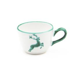 Koffiekopje Hert groen - 0,19 l