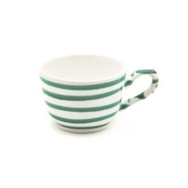 Koffiekopje - Geflammt groen - 0,19 l