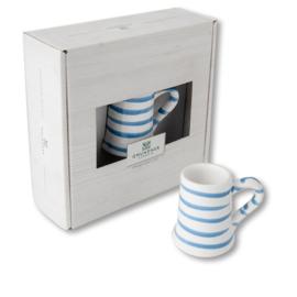 Mini pul - Geflammt blauw cadeauverpakking